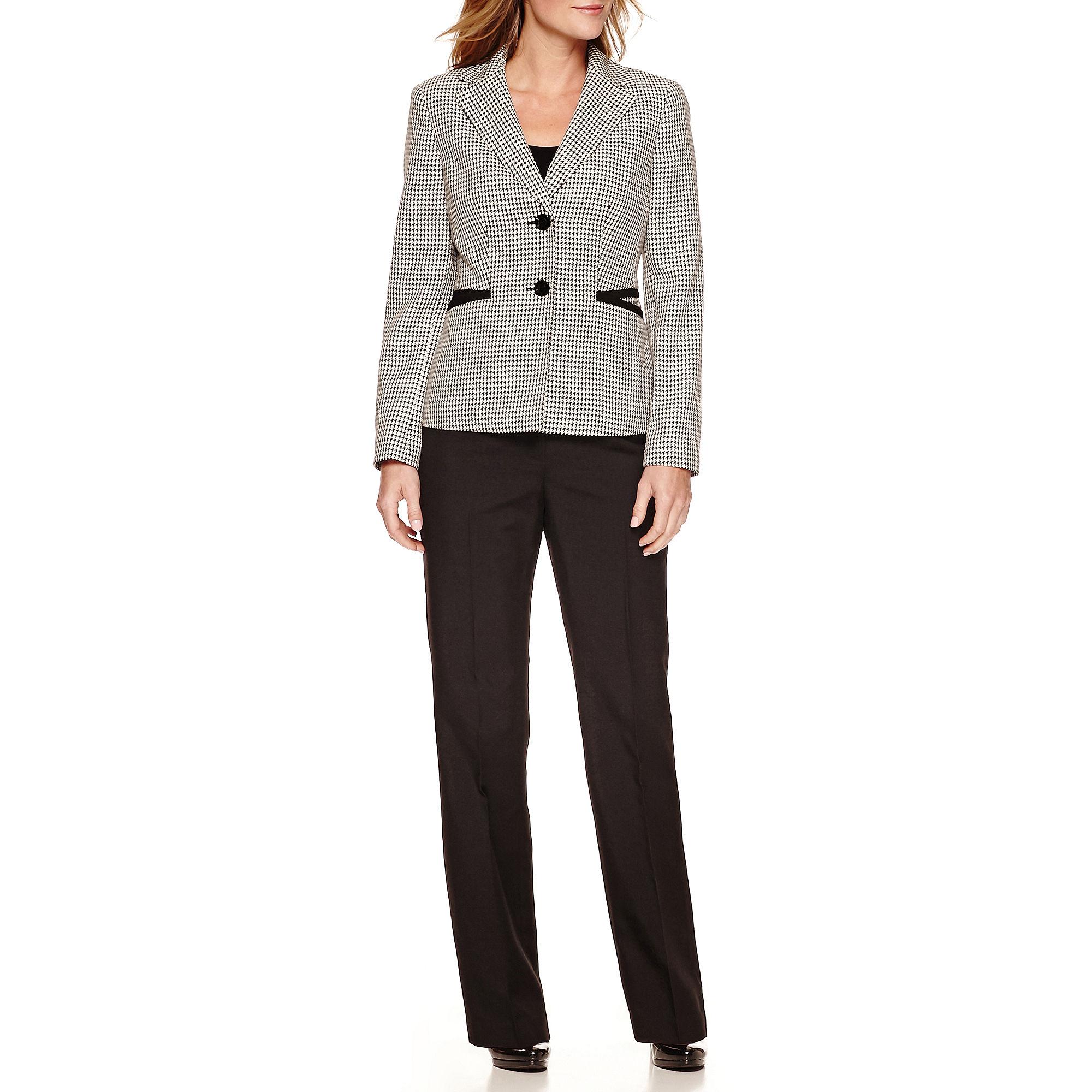 Le Suit Long Sleeve 2 Button Jacket Pant Suit plus size,  plus size fashion plus size appare