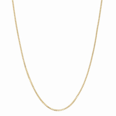 jcpenney.com | 10K Yellow Gold 058 Box Chain Necklace