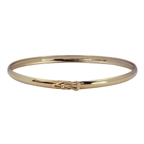 Girls 14K Gold Bangle Bracelet