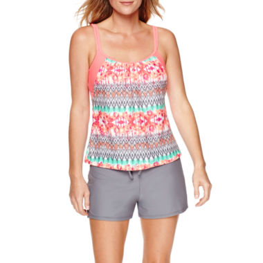 jcpenney.com | Splashletics Layered Tankini or Swim Short