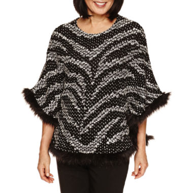 jcpenney.com | Alfred Dunner Wrap It Up  Poncho