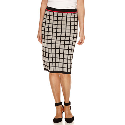 Sag Harbor Skyline A-Line Skirt