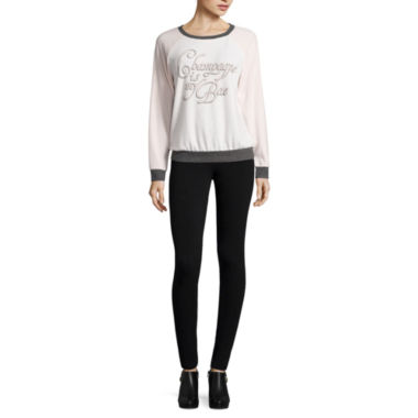 jcpenney.com | Belle + Sky™ Cozy Sweatshirt or High Rise Leggings