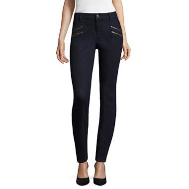 BELLE   SKY™ Zipper Skinny Jeans - JCPenney