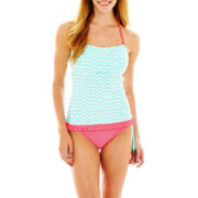 Arizona Corsetkini Swim Top or Tassel Hipster Bottoms - Juniors