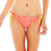 Arizona Crochet Keyhole Hipster Swim Bottoms - Juniors