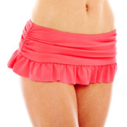 Arizona Solid Skirtini Swim Bottoms