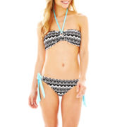 a.n.a® Zigzag Print Bandeau Swim Top or Hipster Bottoms