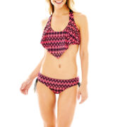 a.n.a® Flounce Bra Swim Top or Adjustable Hipster Bottoms