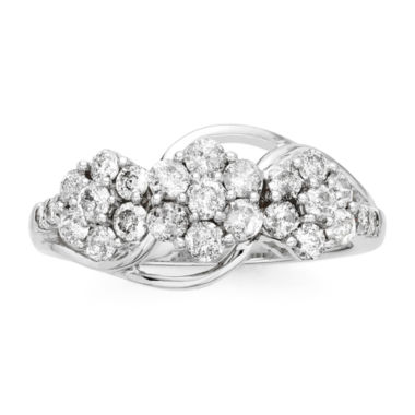 jcpenney.com | diamond blossom 1 CT. T.W. Diamond 3-blossom Ring