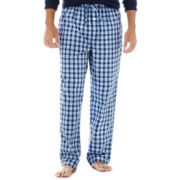Stafford® Plaid Woven Pajama Pants–Big & Tall