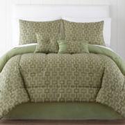 Ria Geometric 6-pc. Comforter Set
