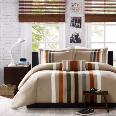 jcpenney.com | Mi Zone Landon Striped Comforter Set