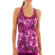 Xersion™ Print Racerback Singlet Tank Top