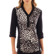 Alyx® 3/4-Sleeve Tunic Sweater
