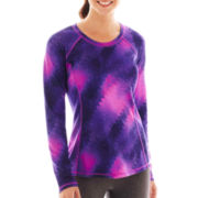 Xersion™ Long-Sleeve Performance Crewneck Tee