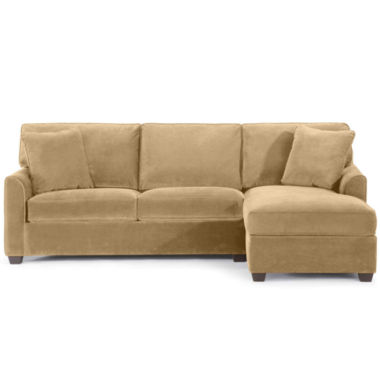 jcpenney.com | Fabric Possibilities Sharkfin-Arm 2-pc. Right-Arm Chaise/Loveseat Sectional