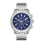 Relic® Jordan Mens Stainless Steel Watch ZR15805