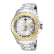 Invicta® Hydromax Mens Stainless Steel GMT Sport Watch 16961