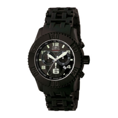 jcpenney.com | Invicta® Sea Spider Mens Black Resin Strap Chronograph Sport Watch 6713