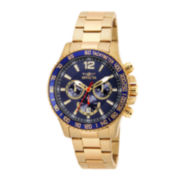 Invicta® Specialty Diver Gold-Tone Stainless Steel Chronograph Sport Watch 15620