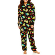 Teenage Mutant Ninja Turtles One-Piece Hooded Pajamas - Plus