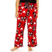 Disney Mickey and Minnie Plush Sleep Pants - Plus