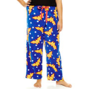 Wonder Woman Plush Sleep Pants - Plus