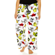Looney Tunes Plush Sleep Pants - Plus