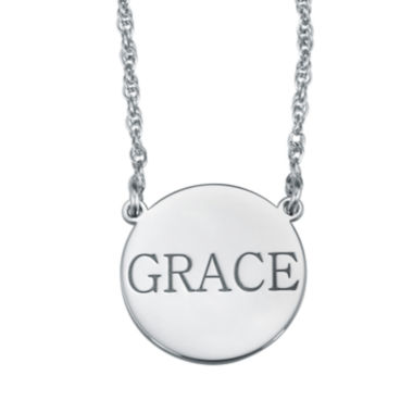 jcpenney.com | Personalized Name Disk Necklace