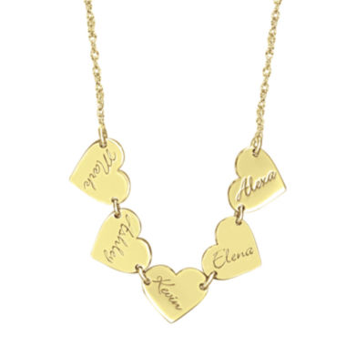 jcpenney.com | Personalized Heart Family Necklace