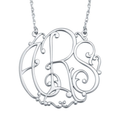 jcpenney.com | Personalized 30mm Ivy Monogram Necklace