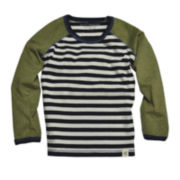 Burt's Bees Baby™ Striped Long-Sleeve Tee - Baby Boys 3m-24m
