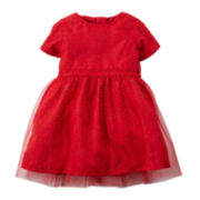 Carter's® Glitter Tulle Dress - Baby Girls newborn-24m