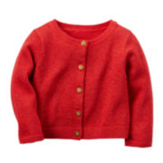 Carter's® Button-Front Cardigan - Baby Girls newborn-24m