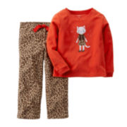 Carter's® Animal-Print Cat Pajamas - Toddler Girls 2t-5t