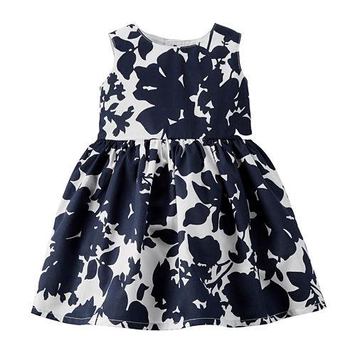 Carter's® Floral-Print Dress - Baby Girls newborn-24m
