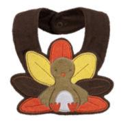 Carter's® Thanksgiving Turkey Bib - Neutral Baby newborn-24m