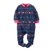 Carter's® Fair Isle Sleep & Play - Baby Girls newborn-9m