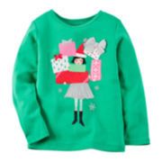 Carter's® Long-Sleeve Elf Tee - Toddler Girls 2t-5t