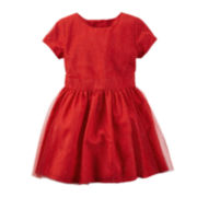 Carter's® Glitter Tulle Dress - Toddler Girls 2t-5t