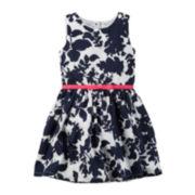 Carter's® Floral-Print Dress - Toddler Girls 2t-5t