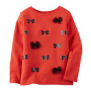 Carter's® Long-Sleeve Bow Tee - Preschool Girls 4-7