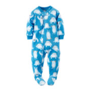Carter's® Fleece Yeti Footed Bodysuit - Baby Boys 12m-24m