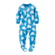 Carter's® Fleece Yeti Footed Pajamas - Toddler Boys 2t-5t