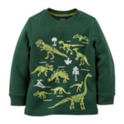 Carter's® Long-Sleeve Glow-in-the-Dark Tee - Preschool Boys 4-7
