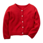 Carter's® Button-Front Cardigan - Toddler Girls 2t-5t