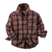 Carter's® Plaid Button-Front Shirt - Preschool Boys 4-7