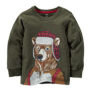 Carter's® Long-Sleeve Bear Tee - Preschool Boys 4-7