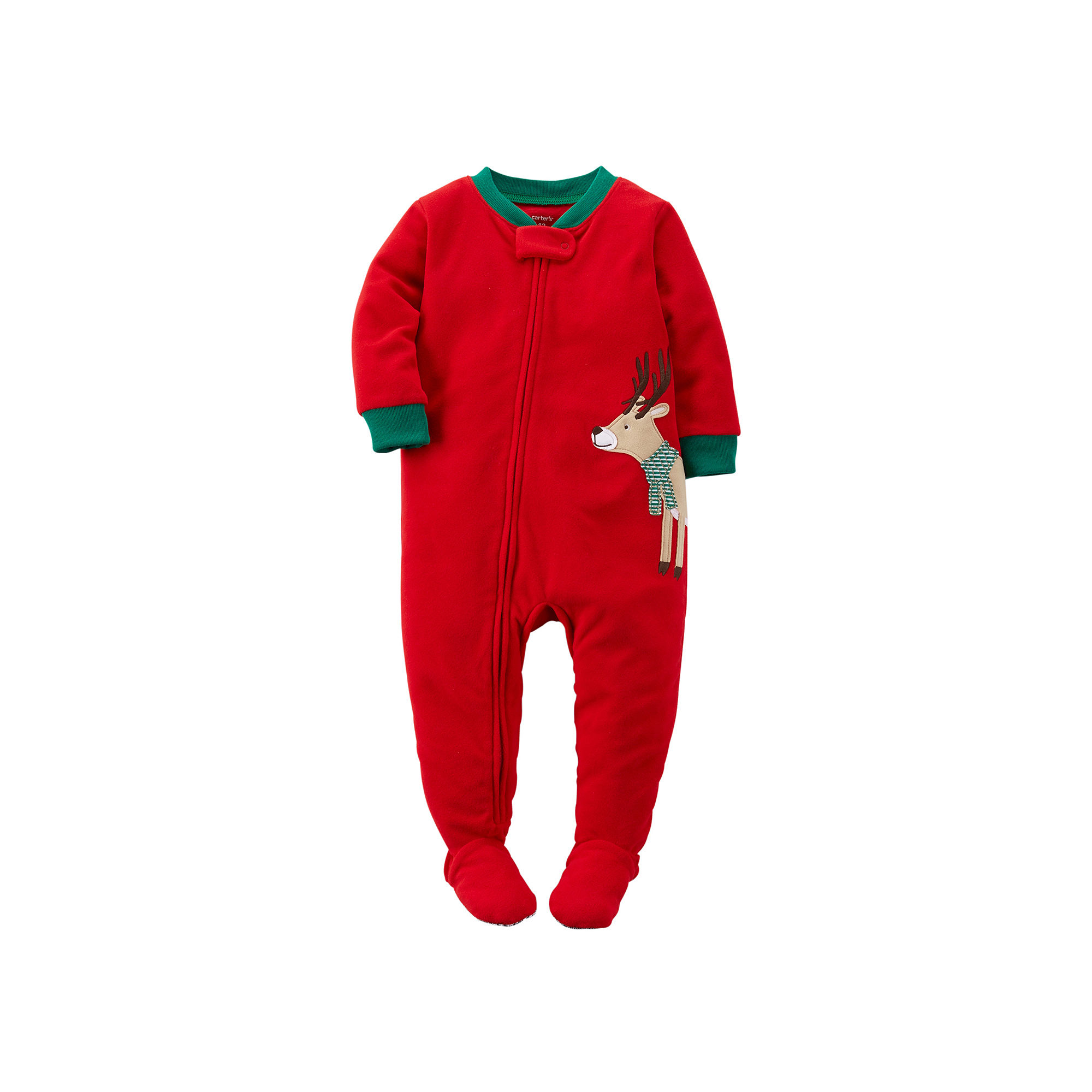 UPC 888510822820 product image for Carter s Fleece Reindeer Pajamas - Baby  Boys 12m-24m ... 706758f75
